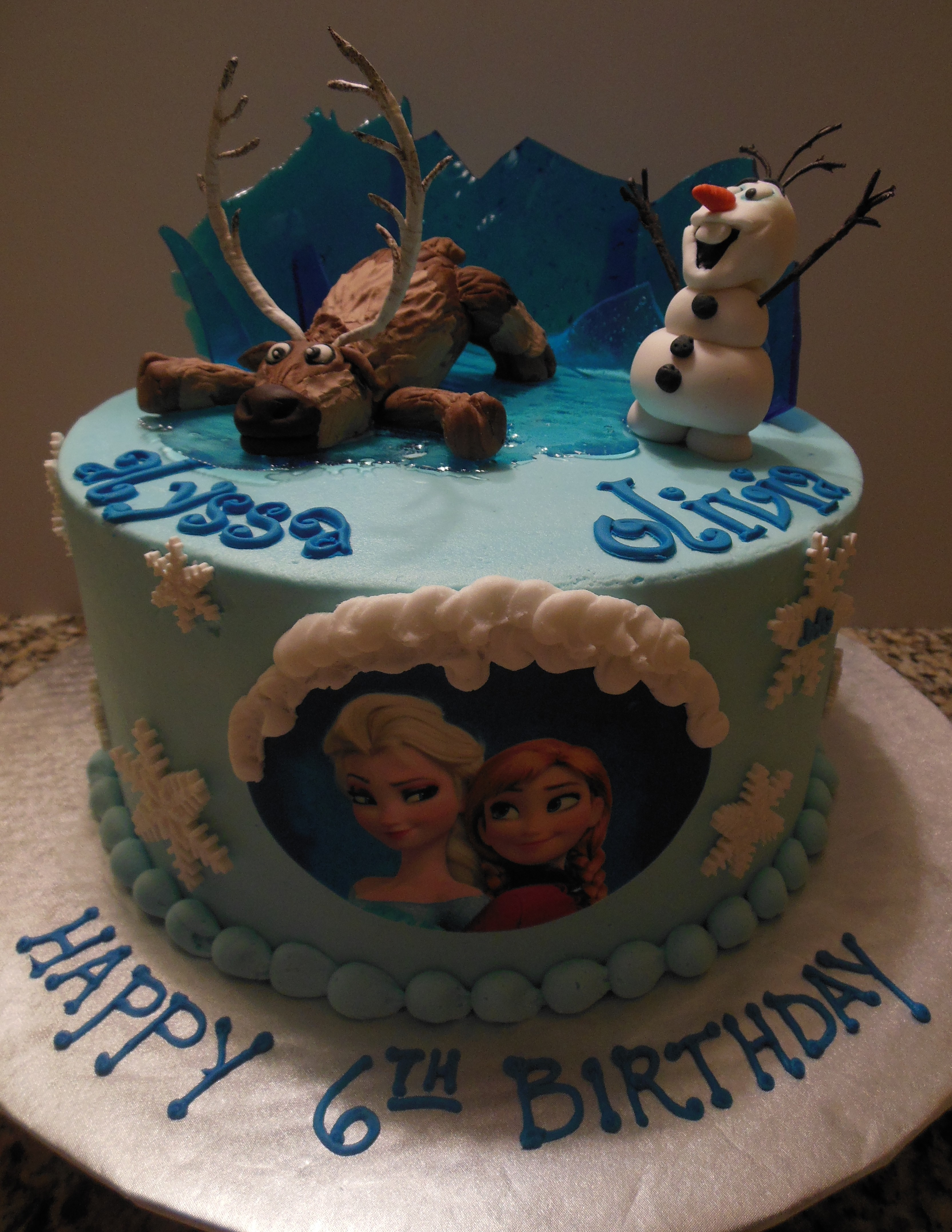Disney Frozen St Louis Custom Cakes