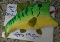 Abstract Bass Fish