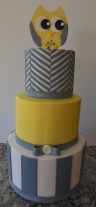 Owl and Chevron Baby Shower