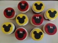 Mickey Mouse Cupcakes