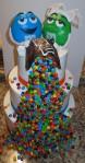M&M Wedding Cake