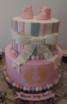 Pink/Gray Baby Shower