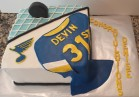 Blues Hockey Cake