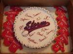 Baseball Cookie cake &jersey