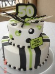 50th Black &Lime