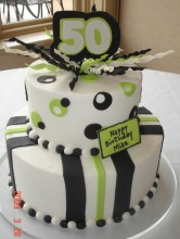 50th Black & Lime