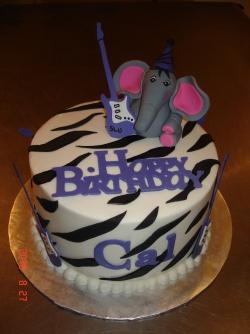 Zebra Guitar elephant