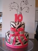 Zebra & hot pink