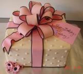 Present, pink & black