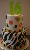 Zebra & polka dots
