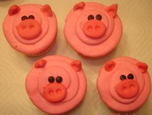 Pig Cupcakes